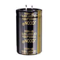 Afbeelding van 5Pcs 10000UF 63V 30x50mm Radial Aluminium Electrolytic Capacitor High Frequency 105C