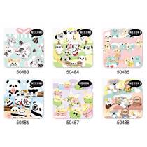 Afbeelding van Korean Import Nekoni Brand Mini Animals Stationery Stickers Scrapbooking DIY Supplies Diary Sticker School