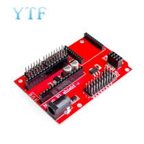 Afbeelding van Nano 328P IO Shield Expansion Board NANO V3.0 Adapter Expansion Board for XBEE and NRF24L01 Socket for arduino DIY KIT