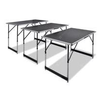 Afbeelding van Pasting Table 3 pcs Foldable Height Adjustable
