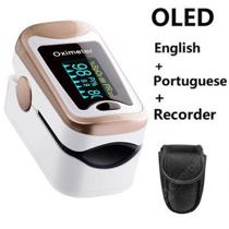 Afbeelding van Fingertip Pulse Oximeter De Dedo Pulso Oximetro Family Oxymeter Pulsioximetro Finger Blood Oxygen Home Digital Counter LED OLED