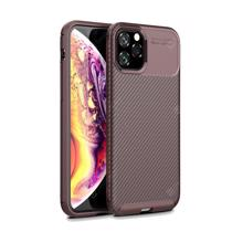 Afbeelding van Carbon Fiber All-inclusive Beetle Phone Shell Silicone Soft Case Fashion for iPhone 12 pro Max 7plus