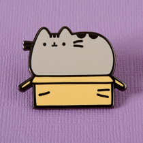 Afbeelding van Punky Pins Pin - Pusheen in a Box