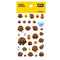Afbeelding van BT21 BT21 Clear Sticker - SHOOKY