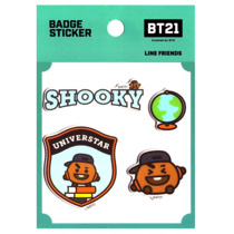 Afbeelding van BT21 BT21 Badge Sticker - SHOOKY