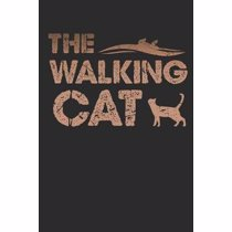 Afbeelding van The Walking Cat: A5 Notebook For Cat Lover And Series Junkies Of The Undead Zombie Cat I A5 (6x9 inch.) I gift I 120 pages I Dotted I D